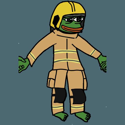 Pepe人鏈 - Sticker 15
