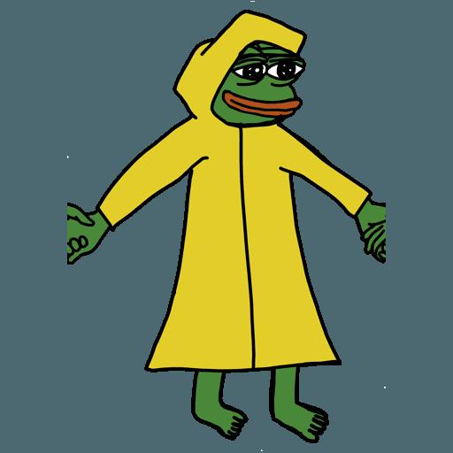 Pepe人鏈 - Sticker 14