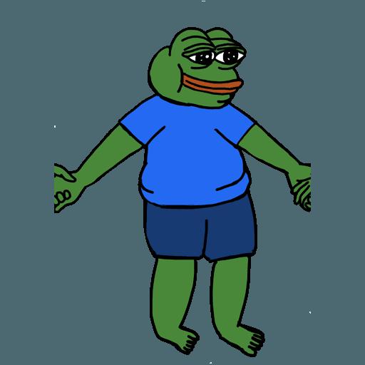 Pepe人鏈 - Sticker 27