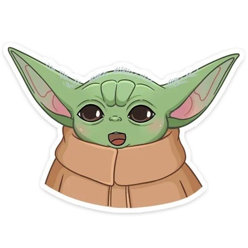 BabyYoda1 - Sticker 5