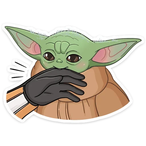 BabyYoda1 - Sticker 4