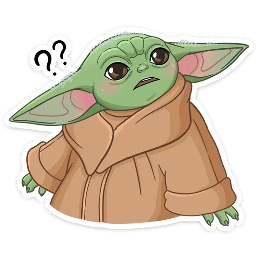 BabyYoda1 - Sticker 1