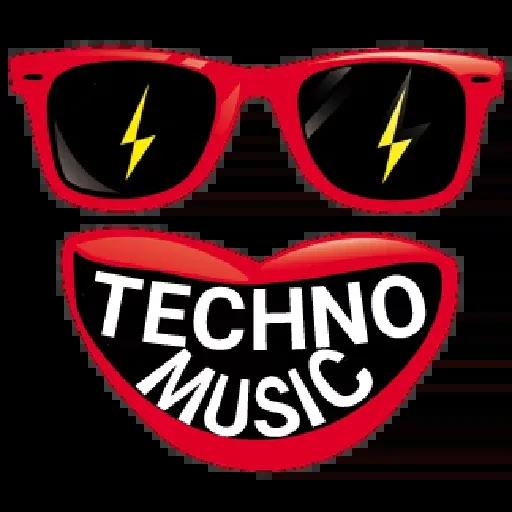 Techno Masks - Sticker 11