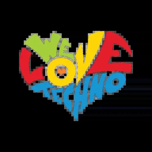 Techno Masks - Sticker 9
