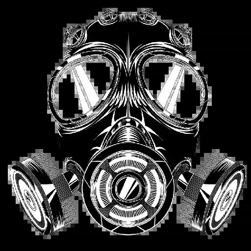 Techno Masks - Sticker 8