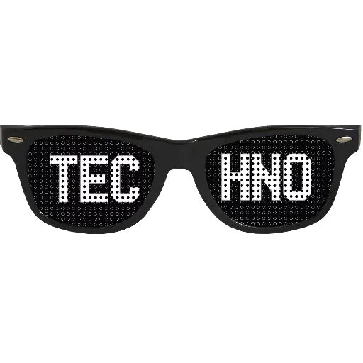 Techno Masks - Sticker 1