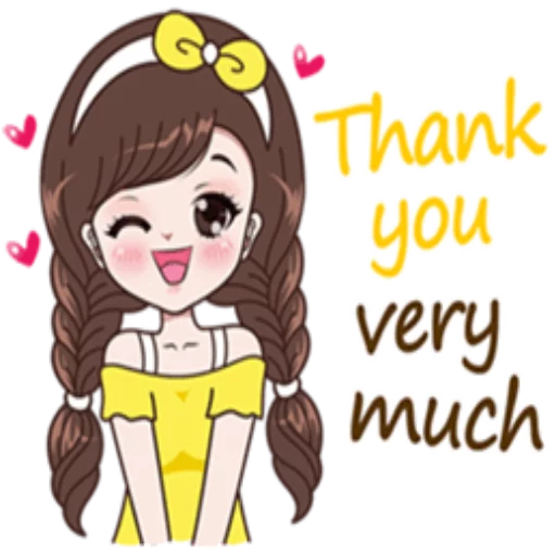 Thanks 😘 - Sticker 1