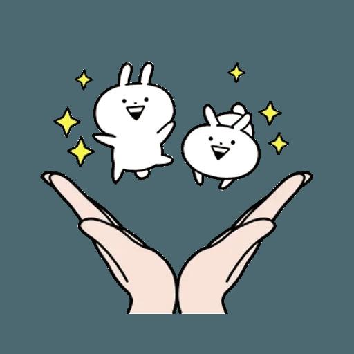 rabbit des - Sticker 6