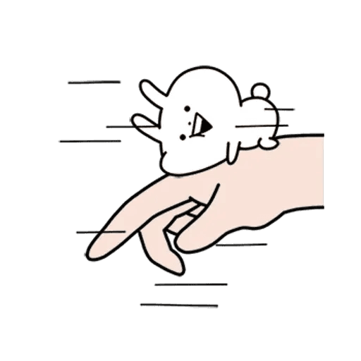 rabbit des - Sticker 1