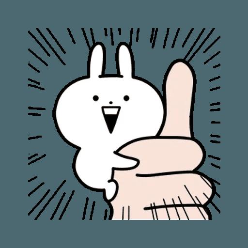 rabbit des - Sticker 7