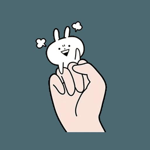 rabbit des - Sticker 21