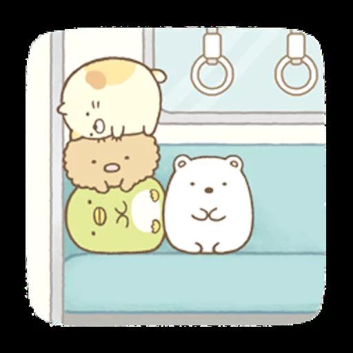 Sumikko Gurashi - Tray Sticker