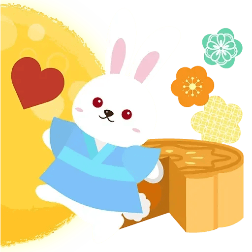 Mid autumn rabbit - Sticker 15