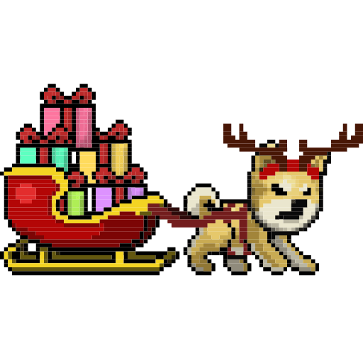 LIHKG Dog Xmas Animated (Unofficial) - Sticker 9