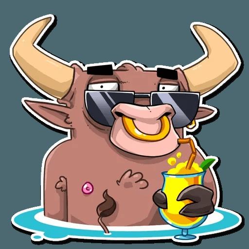 Bull Ringo - Sticker 12