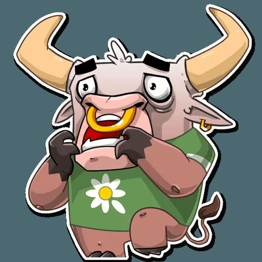 Bull Ringo - Sticker 20