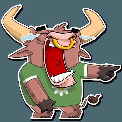 Bull Ringo - Sticker 3