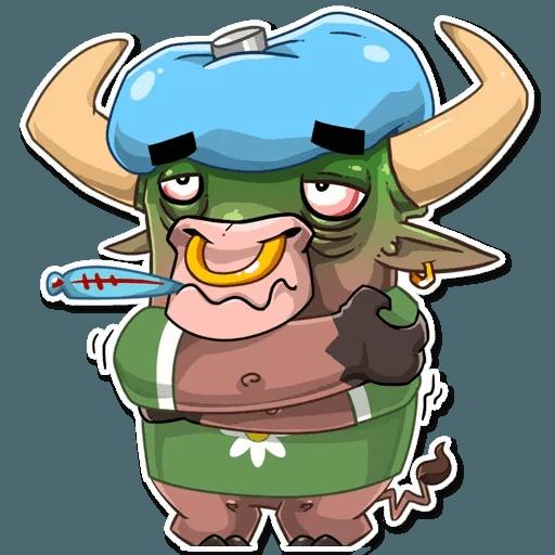Bull Ringo - Sticker 24
