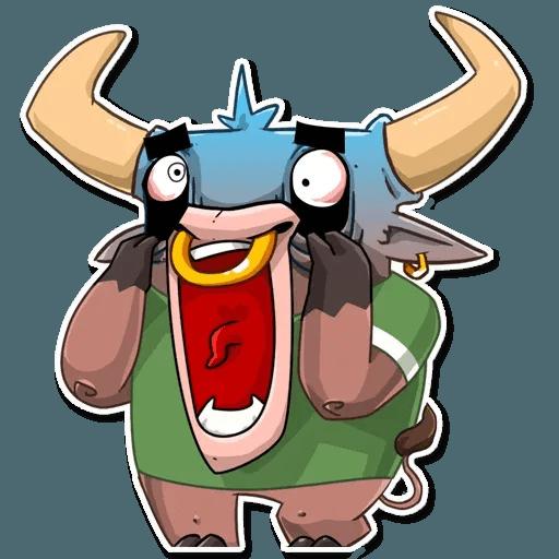 Bull Ringo - Sticker 4