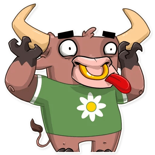 Bull Ringo - Sticker 25