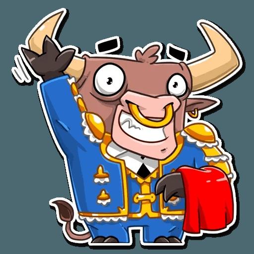 Bull Ringo - Sticker 9