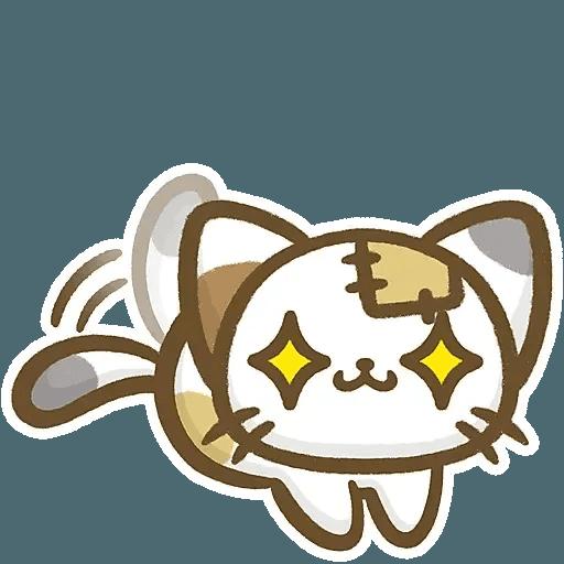 熊貓娜娜系列-補丁貓(by KolaC) - Sticker 17