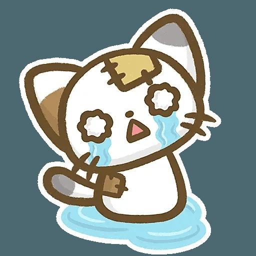熊貓娜娜系列-補丁貓(by KolaC) - Sticker 7