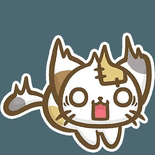 熊貓娜娜系列-補丁貓(by KolaC) - Sticker 22