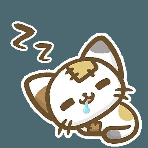 熊貓娜娜系列-補丁貓(by KolaC) - Sticker 16