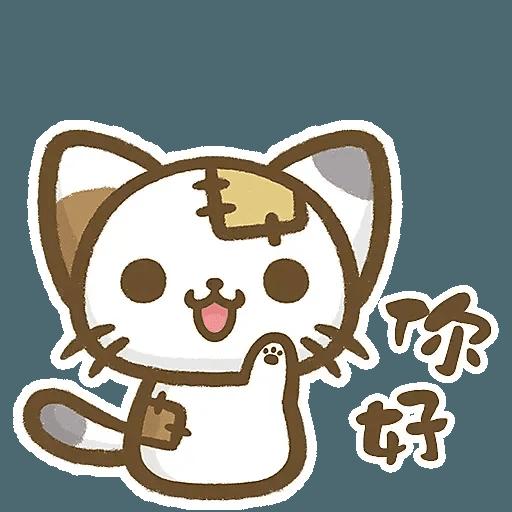 熊貓娜娜系列-補丁貓(by KolaC) - Sticker 27