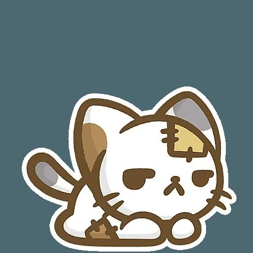 熊貓娜娜系列-補丁貓(by KolaC) - Sticker 12
