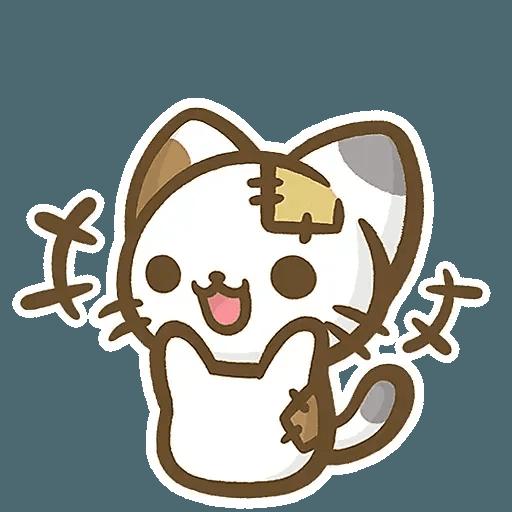 熊貓娜娜系列-補丁貓(by KolaC) - Tray Sticker