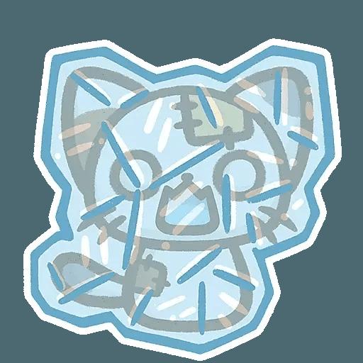 熊貓娜娜系列-補丁貓(by KolaC) - Sticker 14