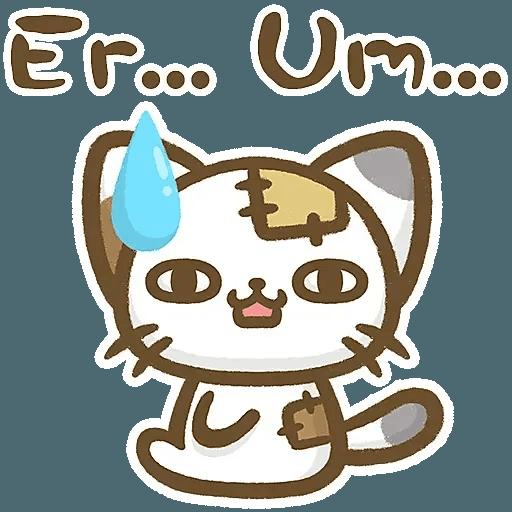 熊貓娜娜系列-補丁貓(by KolaC) - Sticker 18