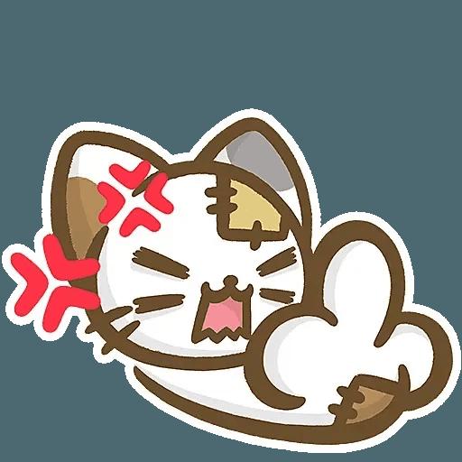 熊貓娜娜系列-補丁貓(by KolaC) - Sticker 26