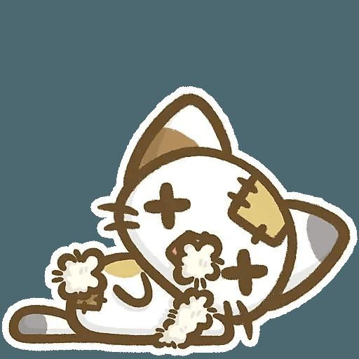 熊貓娜娜系列-補丁貓(by KolaC) - Sticker 11