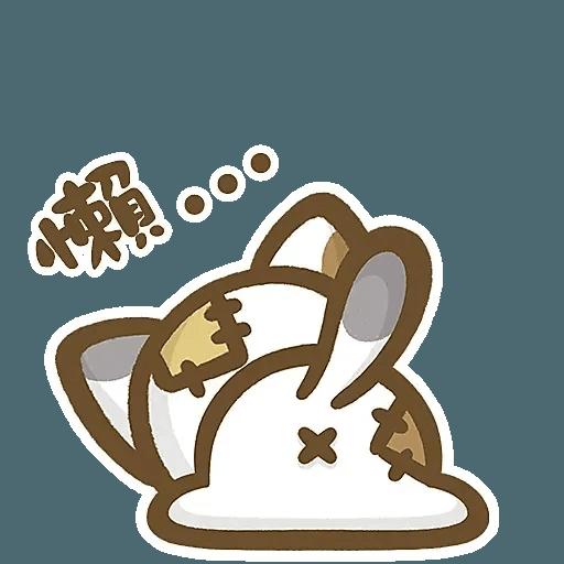 熊貓娜娜系列-補丁貓(by KolaC) - Sticker 10
