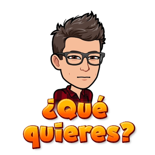 BitMoji - Sticker 10