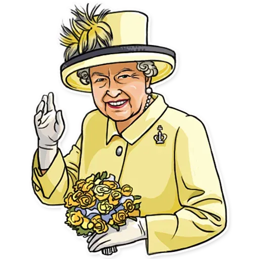 The Queen Pt. 1 - Sticker 5