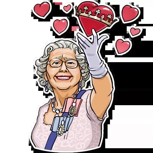 The Queen Pt. 1 - Sticker 2
