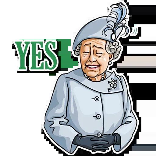 The Queen Pt. 1 - Sticker 10