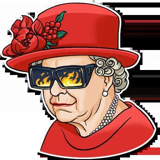 The Queen Pt. 1 - Sticker 7