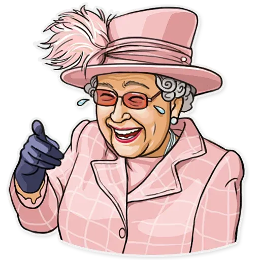 The Queen Pt. 1 - Sticker 1