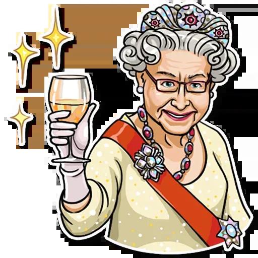 The Queen Pt. 1 - Sticker 18