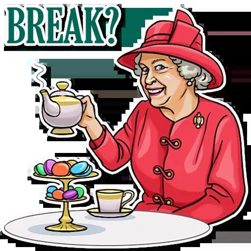 The Queen Pt. 1 - Sticker 15