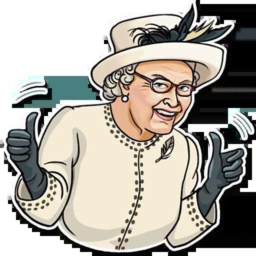The Queen Pt. 1 - Sticker 3