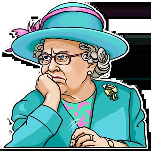 The Queen Pt. 1 - Sticker 12