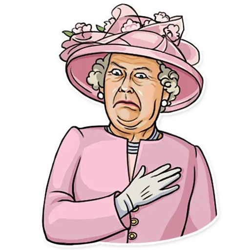 The Queen Pt. 1 - Sticker 4