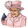 The Queen Pt. 1 - Tray Sticker