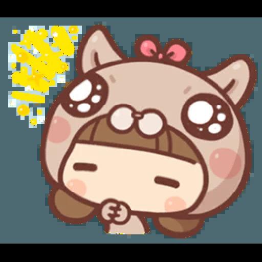 香菇妹&小豬先生 - Sticker 20